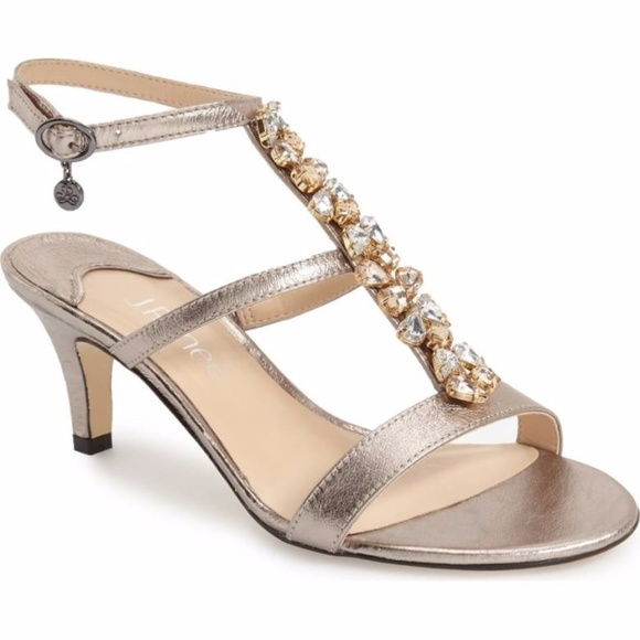 104e2ea9e8e J. Renee Shoes - J. Renee Embellished Evening Sandal - Wide Width